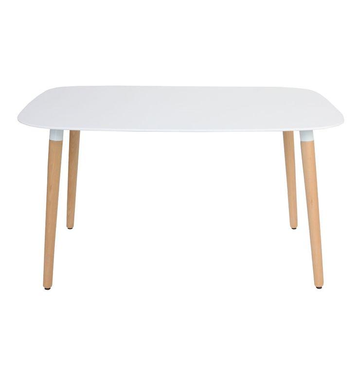 Cleveland Dining Table - Rectangle - Matt Blatt