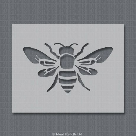 Bumble Bee Insect Home Decor Stencil