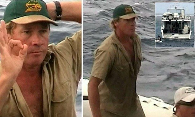 Crocodile Hunter's final moments: Previously unseen footage