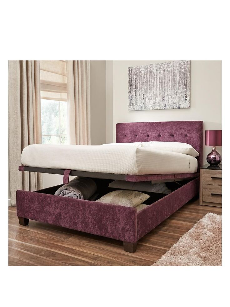 1000 images about small bedrooms on pinterest hidden - Lift up storage bed ...