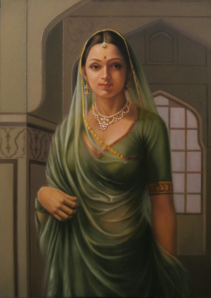 Rare Thoughts Art Gallery An Indian Princess #Royal