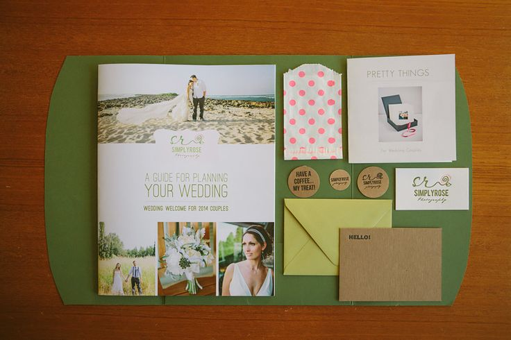 Wedding Photography Welcome Packet: Client Wedding Welcome Package