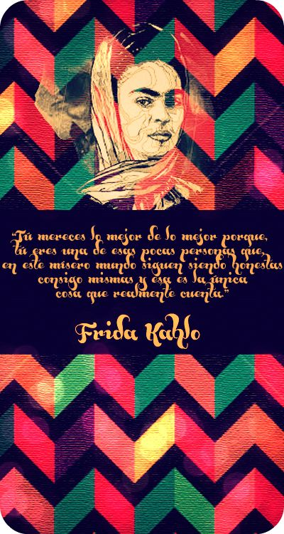 Frida Kahlo - Quotes by Mariela Morillo Dezeo, via Behance