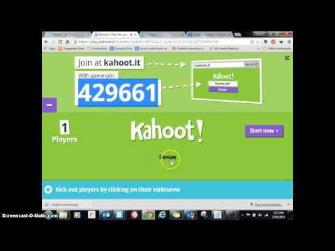 Cómo preparar un Kahoot - YouTube