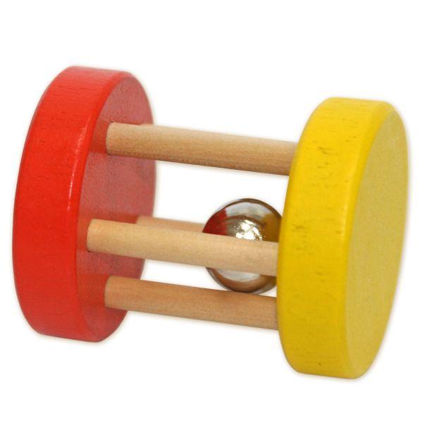 Деревянная игрушка-погремушка «Катушка»