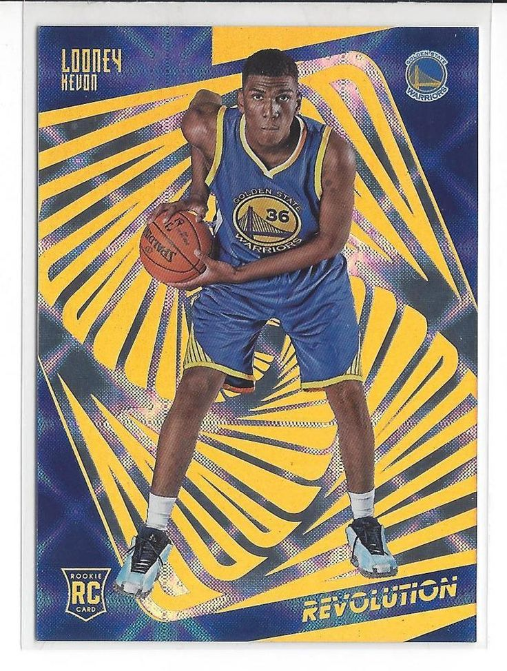 2015-16 Revolution Basketball Kevon Looney Galactic Rookie Card #128 RARE UCLA #NBAGoldenStateWarriors