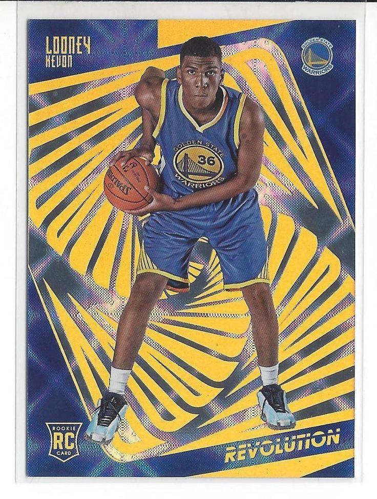 2015-16 Revolution Basketball Kevon Looney Galactic Rookie Card #128 RARE UCLA #NBAGoldenStateWarriors