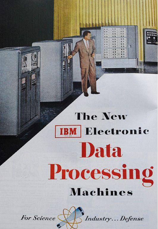 New IBM Electronic Data Processing Machines Ad.