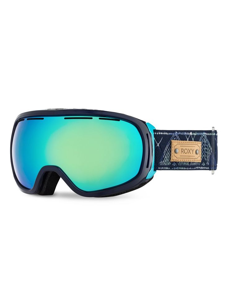 roxy, Rockferry Snowboard Googles, Clematis Blue (prc0)