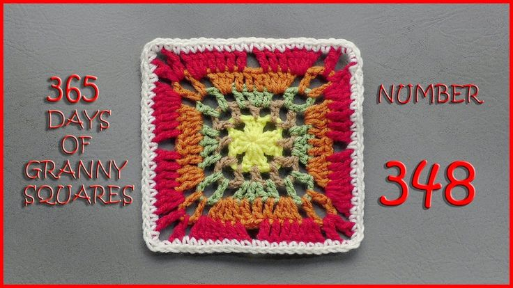 365 Days of Granny Squares Number 348 - Published on Dec 12, 2016 Written Pattern: http://www.ravelry.com/patterns/libra... Link to written pattern can be found at the bottom of this blog: https://yarnutopia.com/365-days-of-gr... Hashtag #YARNutopia and #365DaysofGrannySquares in your photos!! View all Granny Squares: http://yarnutopia.com/365-days-of-gra... Teacher: Nadia