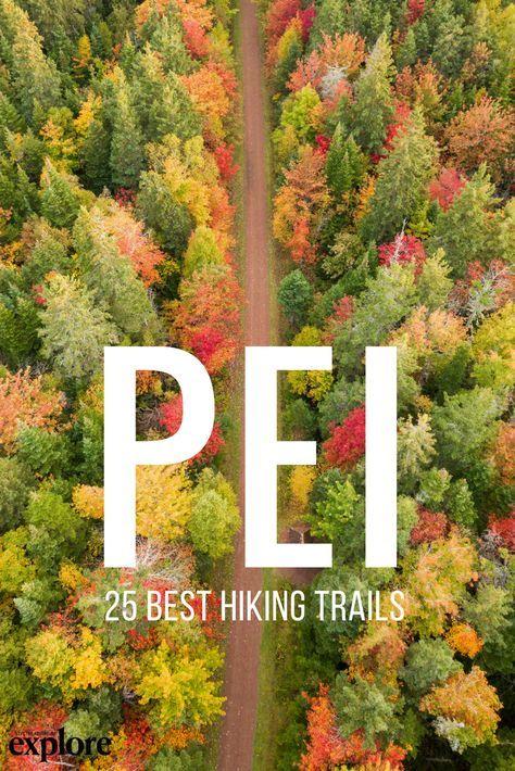 25 of the Best Hiking Trails on Prince Edward Island via Explore Magazine. Words by Alison Karlene Hodgins. #hike #trail #outside #outdoors #active #bike