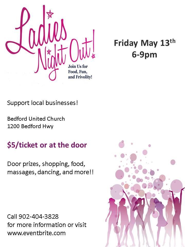Ladies Night Out! Tickets, Bedford - Eventbrite