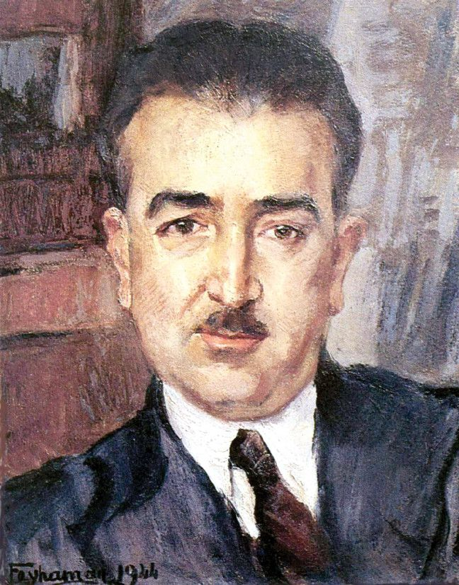 Süheyl Ünver portresi (Feyhaman Duran, 1944)