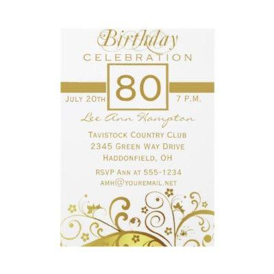 80th birthday party ideas | 80th Birthday Party Invitation Wording Ideas | New Party Ideas