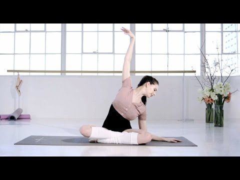 ▶ Ballet Beautiful with Mary Helen Bowers -- Tone your arms | NET-A-PORTER.COM - YouTube