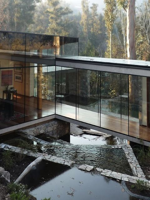 Love the open design and blending into nature