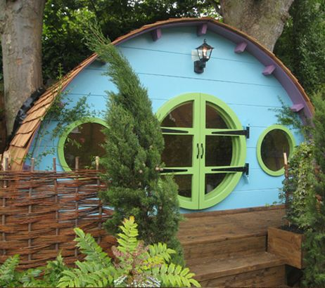High Life Tree houses - Hobbit hole gallery | High Life Treehouses