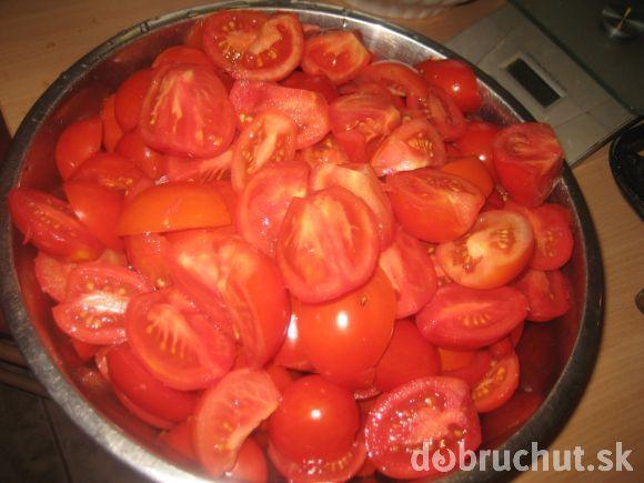 Zavárané paradajky