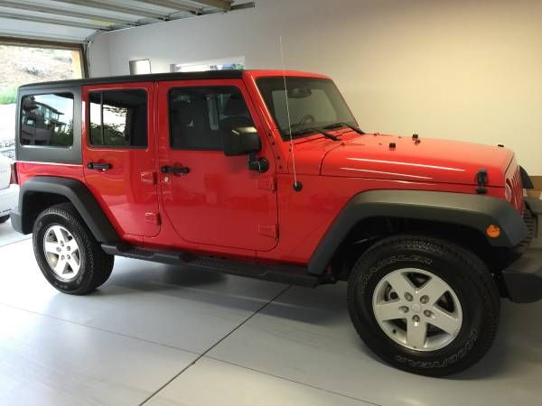 #Craigslist #Jeep #sport #unlimited #Wrangler Jeep Wrangler unlimited sport $28500: Beautiful Jeep Wrangler sport. In excellent condition…