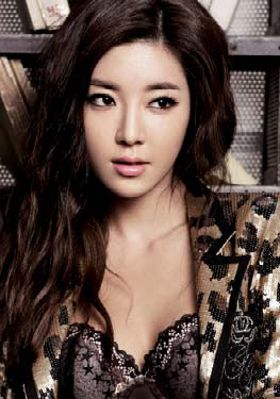 Park Han Byul. actress, also Seven's long-time girlfriend!