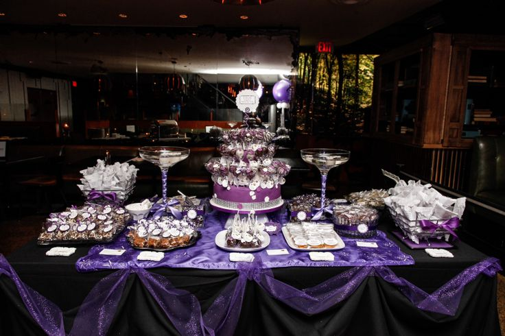 Sweet Treats Table created for a corporate fundraising event. All treats are made from scratch and very yummy!! Great for Weddings, Corporate Functions, Holiday Parties, Birthdays and other Special Celebrations.