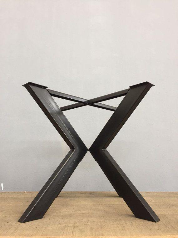metal round dining table base 28 h