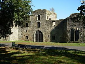 Workington Hall. Cumbria - The Hall was the hereditary seat of the Curwen family, the lords of the manor in Workington, right up until 1929. In 1568 the Hall was the final refuge for Mary Queen of Scots before her imprisonment and eventual execution. During the Second World War the hall was billeted and suffered a fire. Since then it has become a classified ruin.
