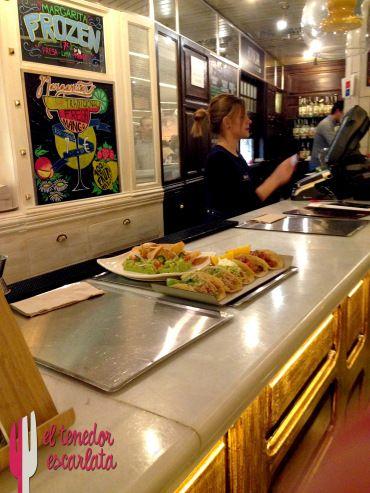 Restaurante mexicano Beso de Sal, en el foso de Platea Madrid