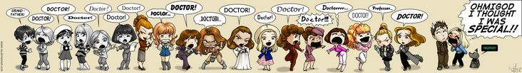 Doctor Who, the female companions (before Rose)