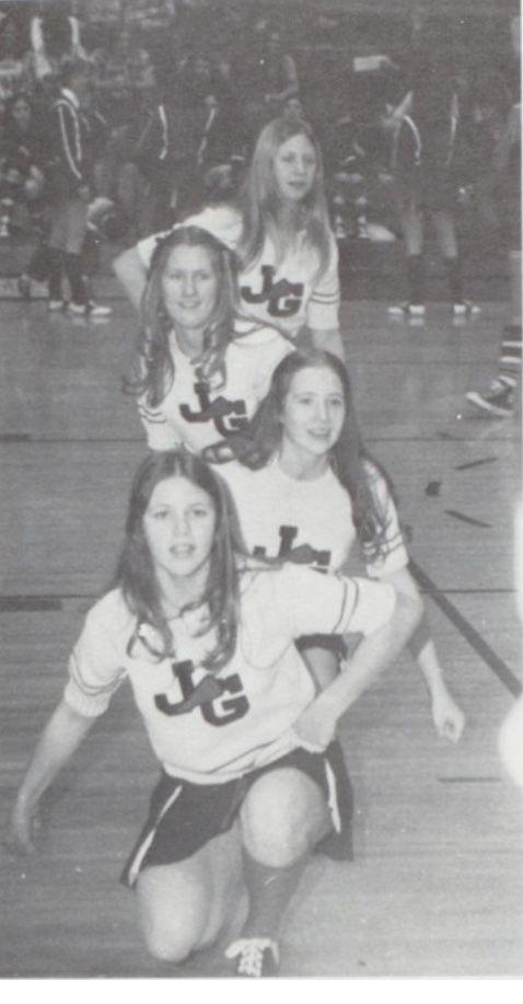 1975-1976 Jr Varsity, John Glenn High School,  Walkerton, Indiana.