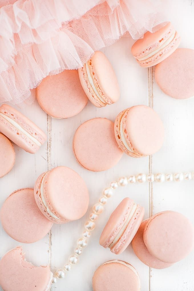 These Cookies Are Delicious Delightful Macarons Baking Frenchmacarons Iambaker Pink Macarons Macaron Wallpaper Macaroon Wallpaper