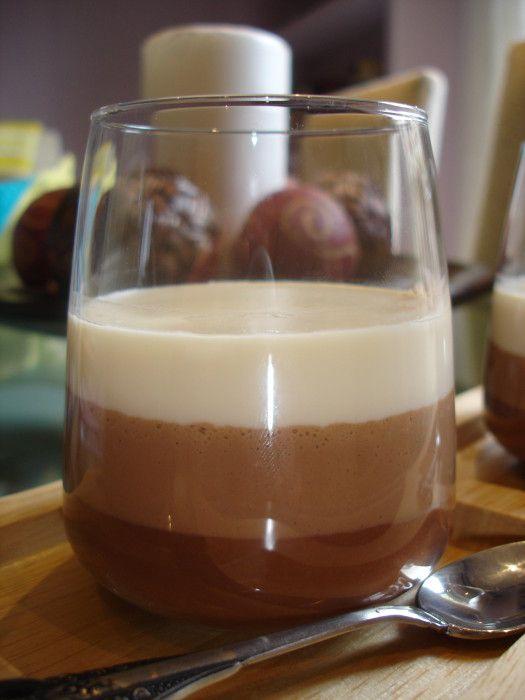 tarta tres chocolates en vaso