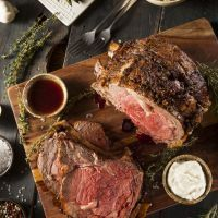 Slow Cooked Prime Rib of Beef