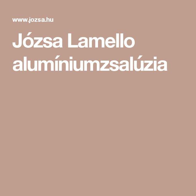 Józsa Lamello alumíniumzsalúzia