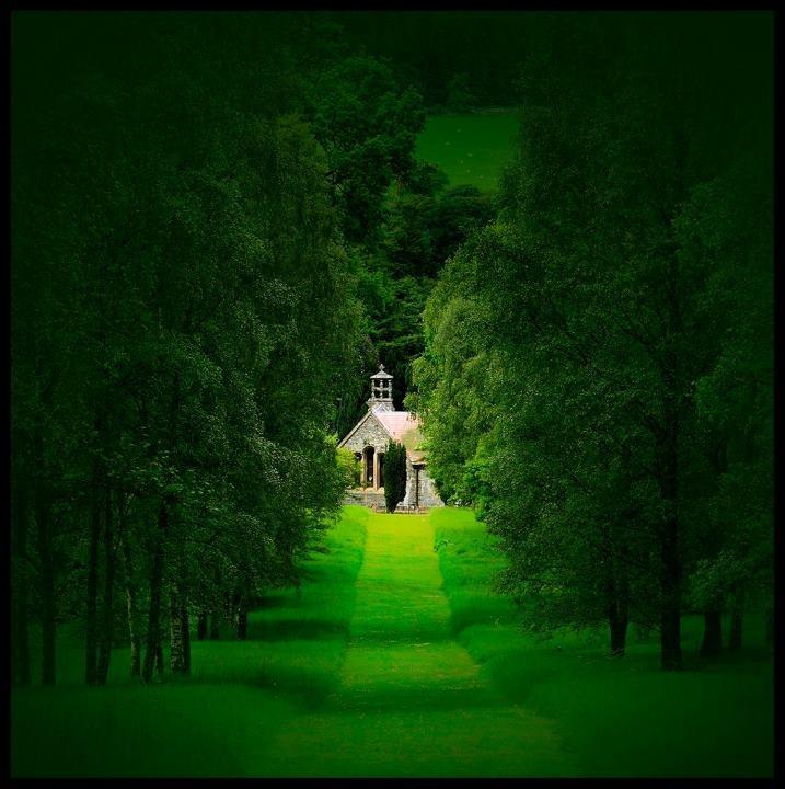 Botanical Gardens, Peebles, Scotland