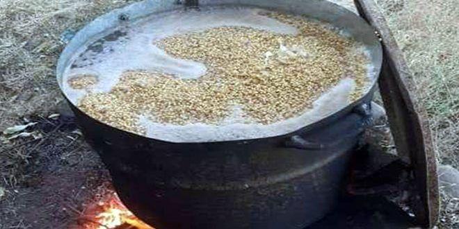 السليقة في حمص طقس المحبة والبركة والاحتفال بموسم القمح Desserts Pudding Food