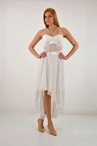 Φόρεμα κοντό εσωτερικά με ράντες