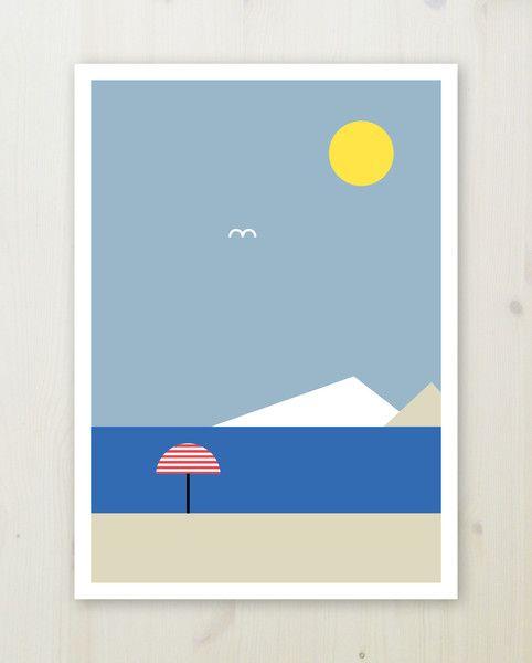 Design: VITVIU Format:50x 70 cm Print: Digital Paper: Scandia 240 gsm uncoated Custom white border around the edge, perfect for framing.