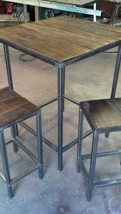 Modern/Rustic+Bar+Set++the+Starter+by+DBaileyBuilt+on+Etsy,+$525.00