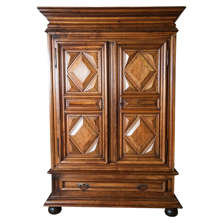 18th Century French Louis Xiii Style Chateau Armoire Louis Xiii 1610 1643