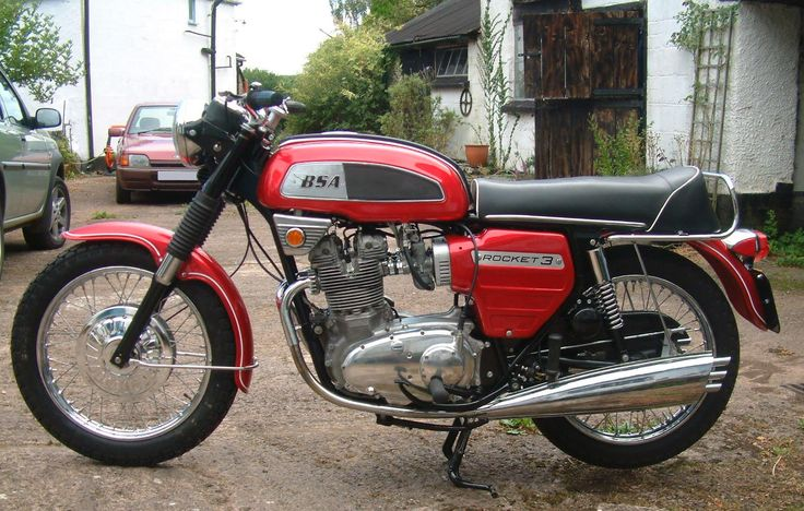 bsa motorcycles | 1970 BSA Rocket 3