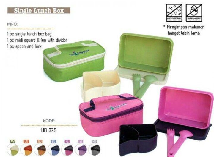 Promo Single Lunch Box  118.500/set hanya dihari ini....