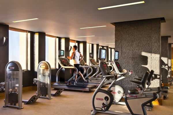 Sky Gym At Willow Stream Spa Luxury Hotel Hotels And Resorts Fairmont Hotel
