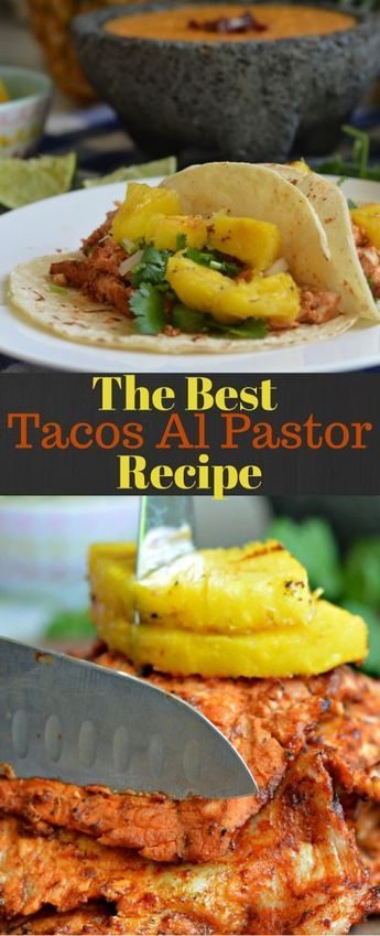 If you are looking for tacos al pastor, this the right recipe for you! It may not be cooked in the traditional way, but it definitely has the traditional flavor! #RecetasParaMomentos #Ad