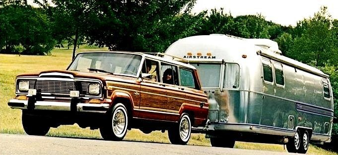 Airstream & Jeep Wagoneer