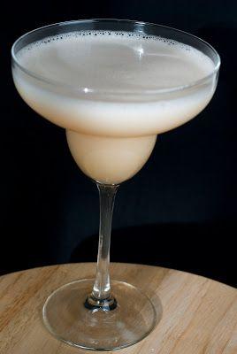 Peach Margarita - A Year of Cocktails