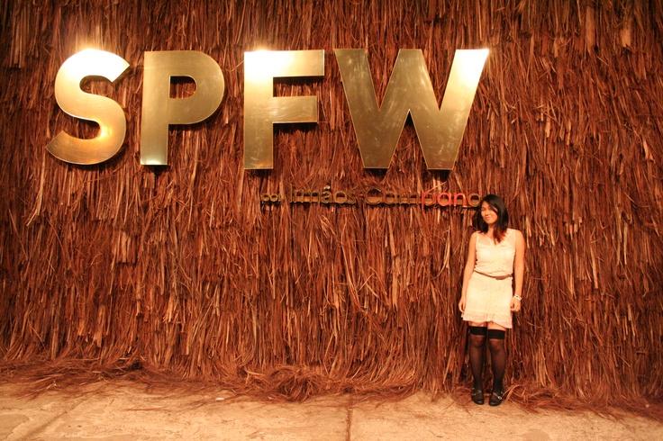 Decoração dos Campana - SPFW Verão 2014