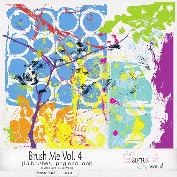 Brush Me Vol. 4 by Laras Digi World