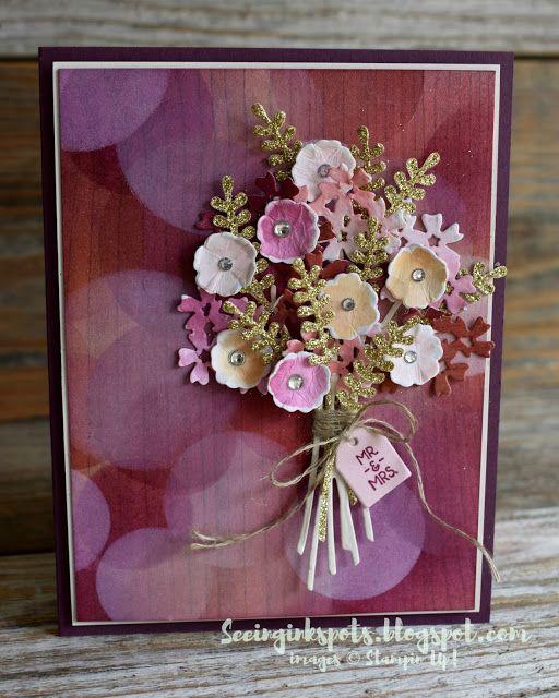 tgif113 bokeh bouquet  flower cards floral cards