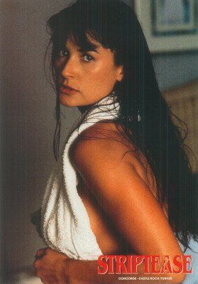 STRIPTEASE DEMI MOORE ORIGINAL LOBBY CARD SEXY WET HAIR *** Be sure to check out this awesome product.